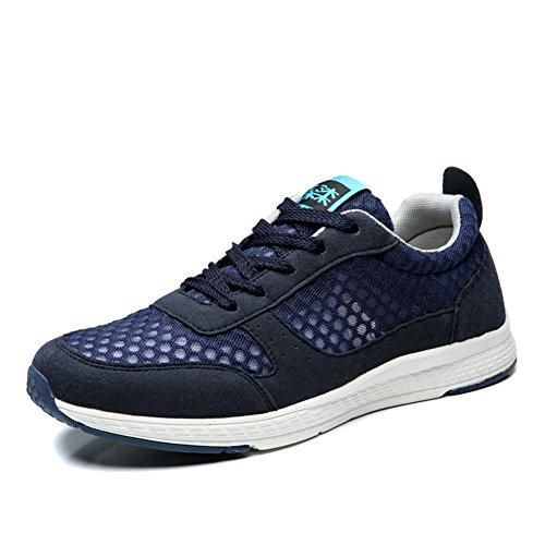 2017 Heren En Dames Unisex Paar Casual Mode Sneakers Loopschoenen Blauw