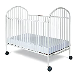 Foundations Worldwide Classico Full Size Crib, White