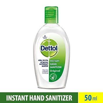 amazon com dettol refresh instant hand sanitizer 50ml beauty