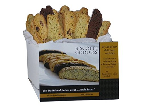 Biscotti Goddess Gluten Free Biscotti, 12 Count