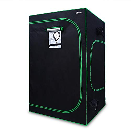 """Ohuhu 60""""x 60""""x 80"""" Grow Tent with Observation Window &"""