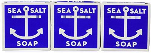Swedish Dream Sea Salt Soap (3 Pack) 4.3ozeach soap Set by Kala