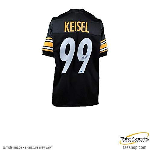 50975b587 Total Sports Enterprises Brett Keisel Autographed Black Custom Jersey