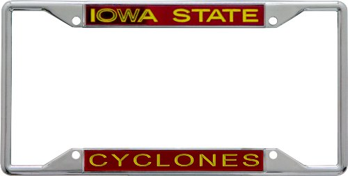 - NCAA Iowa State Cyclones License Plate Frame