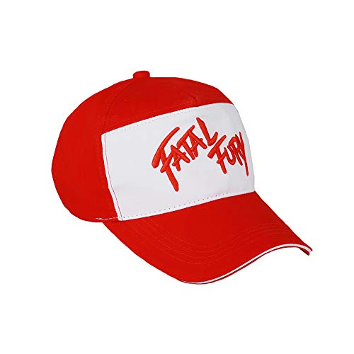 Update Version Fatal Fury Unisex Baseball Hat Cap Red