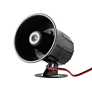 BestDealUSA Super Power Electronic Wired Alarm Siren Horn for Home Alarm System