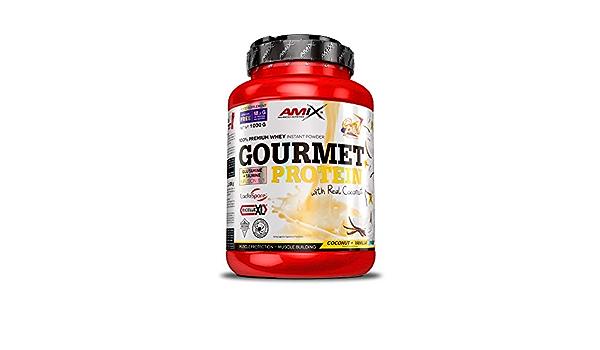 AMIX Gourmet Protein 1 Kg Coco-Vainilla-Yogurt 1000 g: Amazon ...