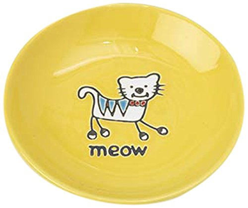 Pet Rageous Silly Kitty Saucer, 2.5-Ounce