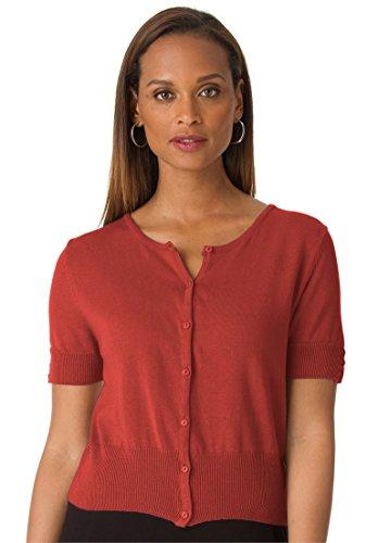 Jessica-London-Womens-Plus-Size-Cropped-Cardigan