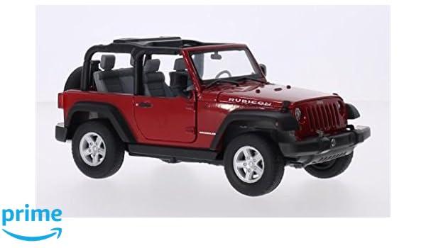 colores aleatorios 1:27 surtido Jeep Wrangler Rubicon en escala Maisto  31245