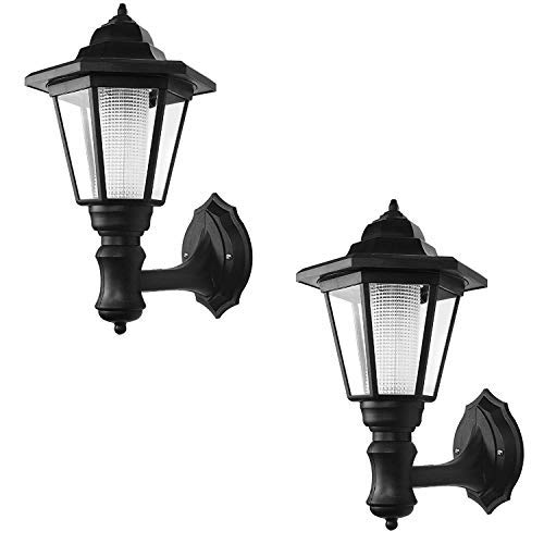 ONEVER Solar Vintage Wall Lamp Outdoor