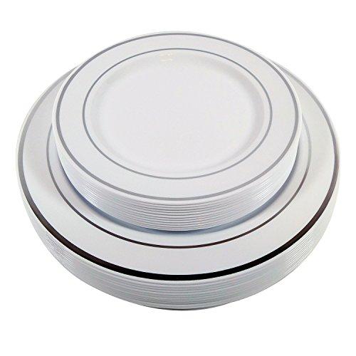 Fancy Plastic Plates Dessert Disposable