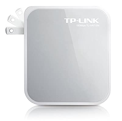 TP-LINK TL-WR72N Wireless Travel Router,Nano Size ,Router/AP/Client/Bridge/Repeater Modes ,15Mpbs, USB Powered