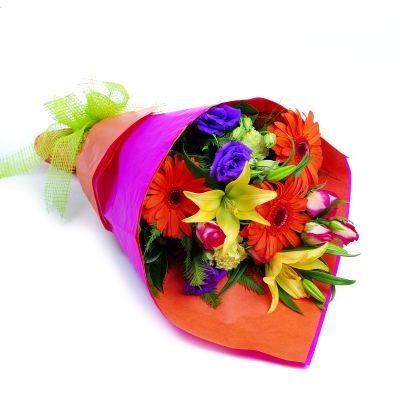 ramo de flores frescas naturales - ideas para regalar a tu novia esposa mujer