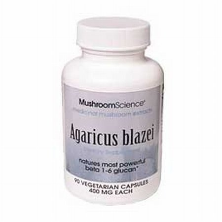 Agaricus blazei – White Button Mushroom – 90 Vegi Caps 400mg