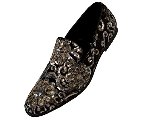 Style Slipper Embroidered Fabian Amali Smoking Sequin Black wgIcqcSzx