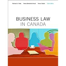 Business Law in Canada, Tenth Canadian Edition (10th Edition)