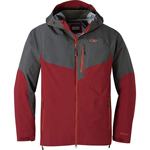 Outdoor Research Hemispheres Jacket FireBrick/Storm S
