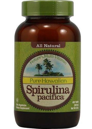 【特用サイズ】Nutrex Hawaiian Organic Spirulina (400tabs) -ハワイアンスピルリナ- [海外直送品] B0099ZXF90