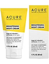 ACURE Brightening Night Cream, 1.7 Fl. Oz. (Packaging May Vary)