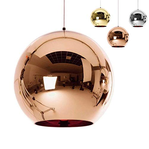 Ball Pendant Light Copper