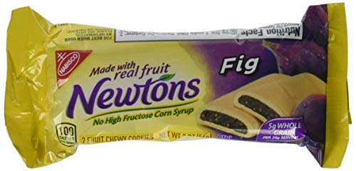 - Newtons Fig Fruit Chewy Cookies - Snack Pack, 12 Count Box, 24.0 Ounce