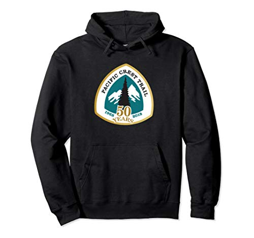 PCT 50th Anniversary Logo Hoodie - Pacific Crest Trail ()