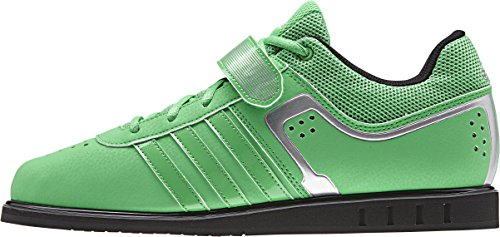 adidas Powerlift 2 Adult Weightlifting Shoe, Lime, UK12
