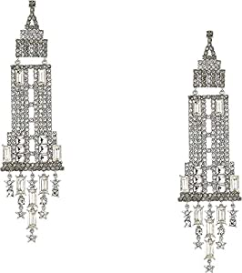 Kate Spade New York Women's Dashing Beauty Empire State Earrings Neutral Multi One Size
