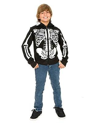 Charades Skeleton Hoodie Children's Costume Sweatshirt