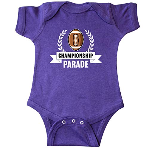 inktastic - Championship Parade with Banner Infant Creeper 6 Months Purple 34514