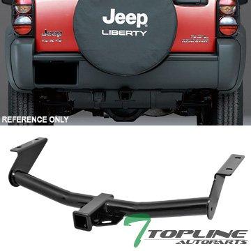 Topline Autopart Class 3 III Trailer Towing Hitch Mount Receiver Rear Bumper Utility Tow Kit 2