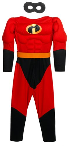 Incredibles Incredible Muscle Chest Costume