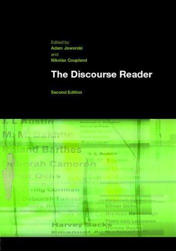 The Discourse Reader