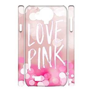 Print Your Own Photo Phone Case with Hard Shell Protection for SamSung Galaxy S4 I9500 case with Love Pink lxa#218207
