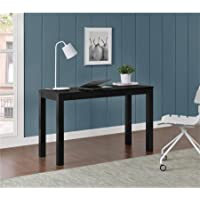 Altra Parsons XL Desk with 2 Drawers in Black