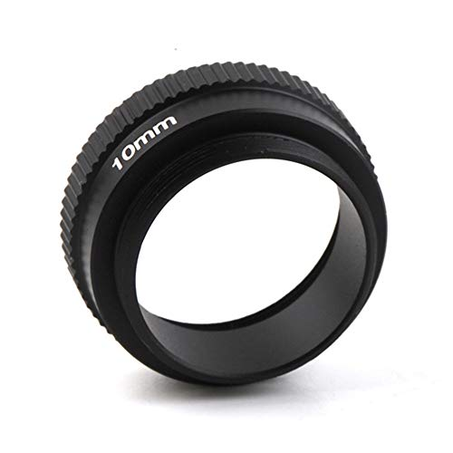 Generic 10mm C-CS Mount Lens Adapter Ring Extension Tube for CCTV Security Camera