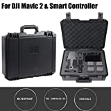 Carrying Case for DJI Mavic 2 Pro/Zoom - Waterproof Wear-Resistant Portable Military Spec Hardshell Storage Case for Outdoor and Travel Use ( Black)