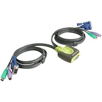 Iogear 2 Port Miniview Micro Usb Plus Kvm Switch With