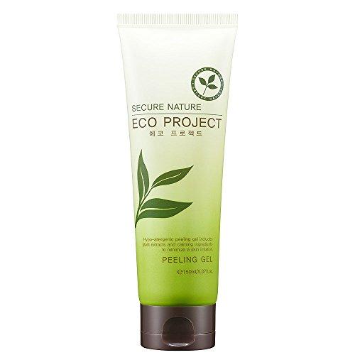snk cosmetics Secure Nature Peeling Gel - Brightening, Skin-purifying Natural Skin Care, - Foaming Face Suki Cleanser