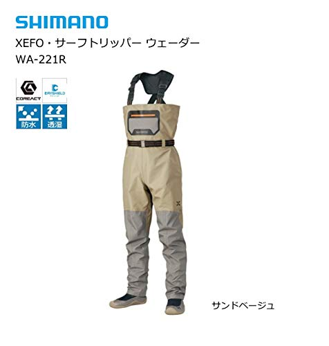 シマノ(SHIMANO)ウェーダーXEFO・サーフトリッパーウェーダーWA-221Rの画像