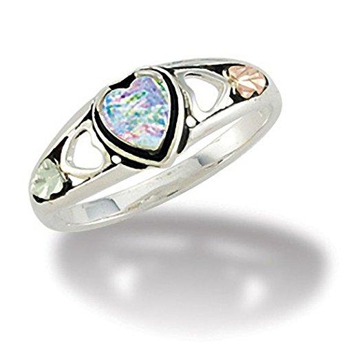 Black Hills Gold Opal Ring - 2