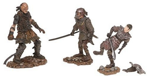PA Distribution, Inc. Lord of The Rings Figure 3 Pack: Sam in Orc Armor/Frodo in Orc Armor/Orc Whipmaster (Orcs In The Lord Of The Rings)