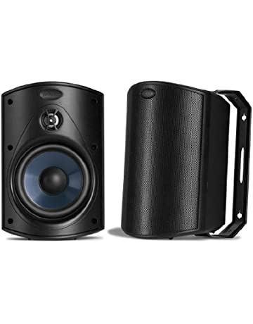 Groovy Amazon Com Outdoor Speakers Electronics Interior Design Ideas Clesiryabchikinfo