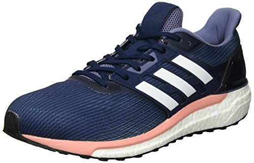 De still Adidas Breeze Supernova W White Gris Femme Running Comptition Chaussures midnight ftwr Grey Brtr74Rn