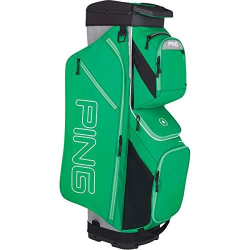 PING New 2019 Traverse 191 Fairway Green/Silver 14-Way Golf Cart Bag