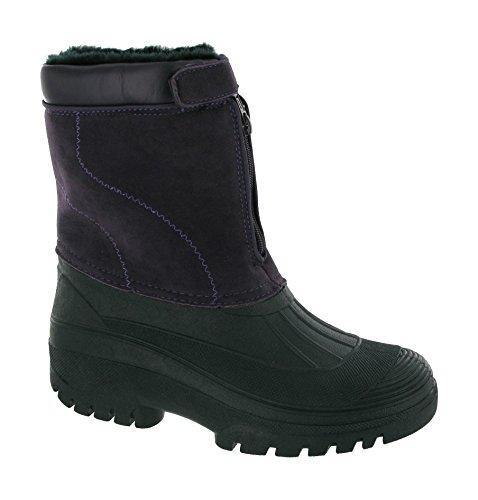 Mirak Tassle Textile Lined Unisex Boots - Purple - Size 41 42 43 44 45 46 Purple