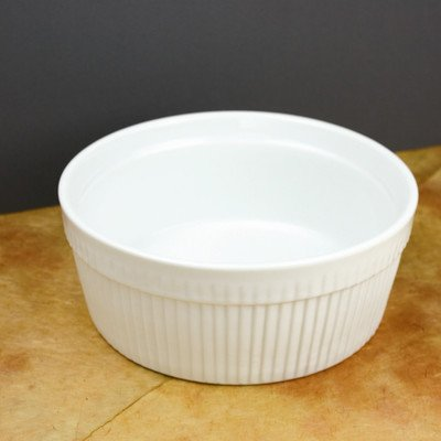 Culinary Ramekin 12 oz Bowl (Set of 4) (16 Oz Baking Dish)