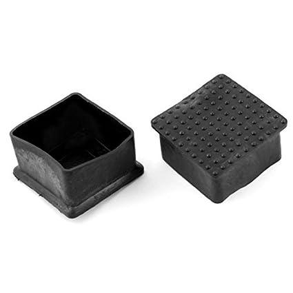 Amazon.com : Muebles Silla Square Leg Protector de goma del ...