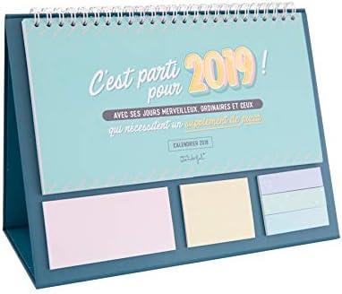 Wonderful linea Classica/ /e parti 2019 Calendario da tavolo Mr